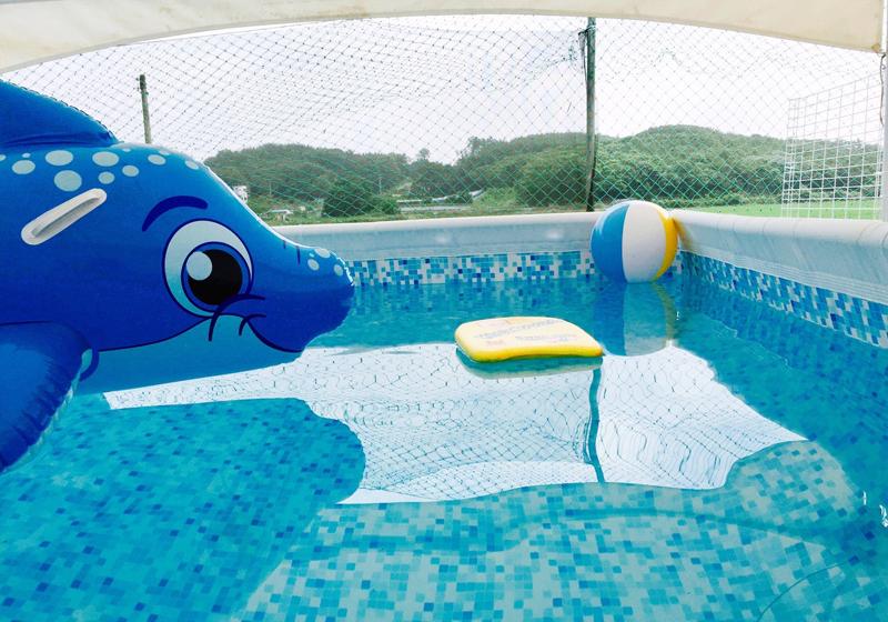 수영장-숙박손님만 이용가능(비용별도-7,8월만 운영)